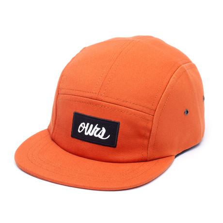 Canvas Camper Hat // Rust