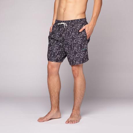Dive Swim Short // Black