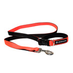 3 in 1 hands free leash with built in short lead neon for Short sale leads
