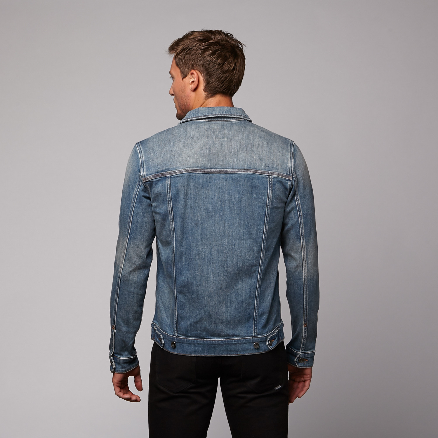 Hook Denim Jacket // Washed Out (XS) - WeSC - Touch of Modern