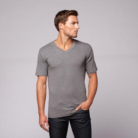 Classic V-Neck // Slate Grey