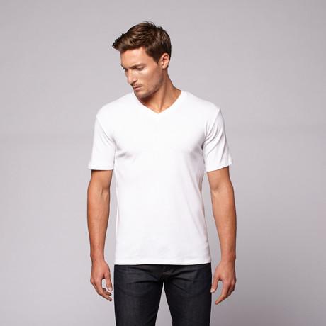 Classic V-Neck // Bright White
