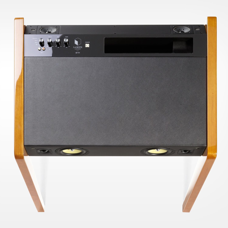 la boite speaker system ld130 cherry wood la boite. Black Bedroom Furniture Sets. Home Design Ideas