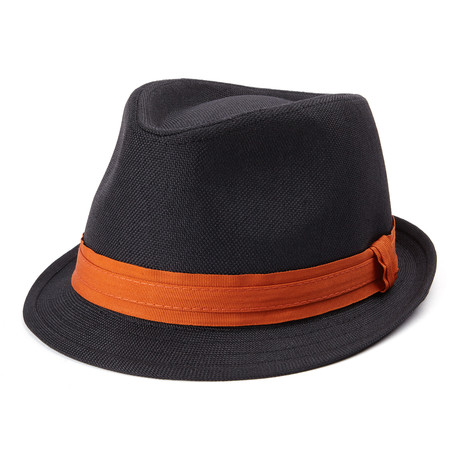 Trilby // Black + Orange