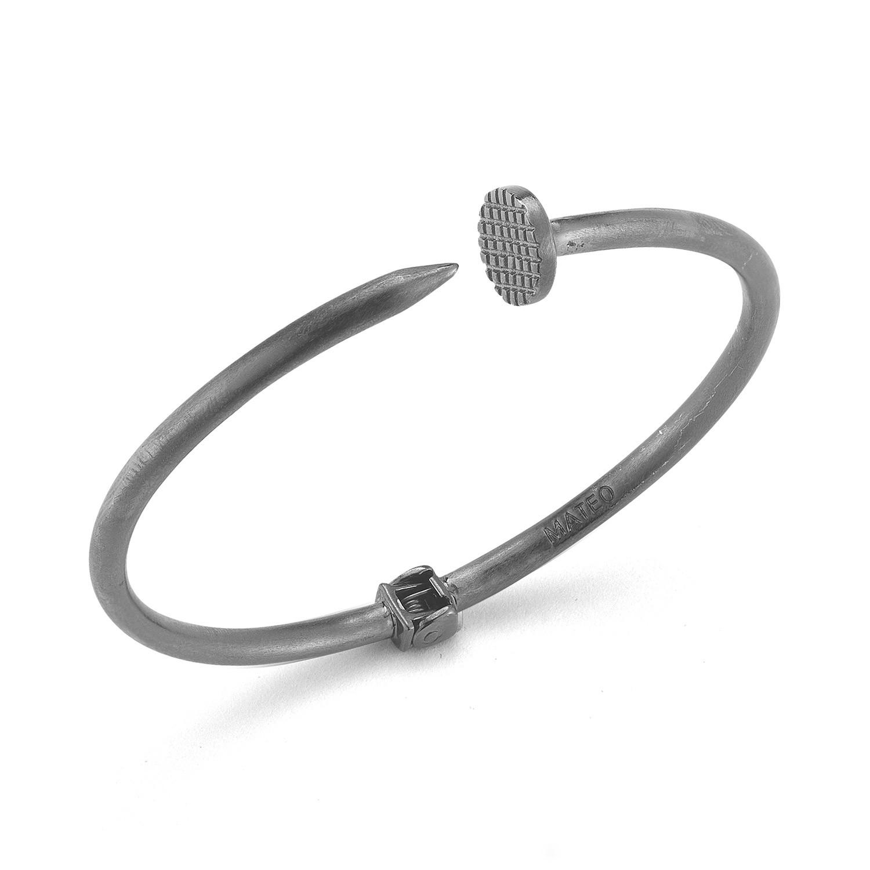 Nail Bracelet 18k Gold