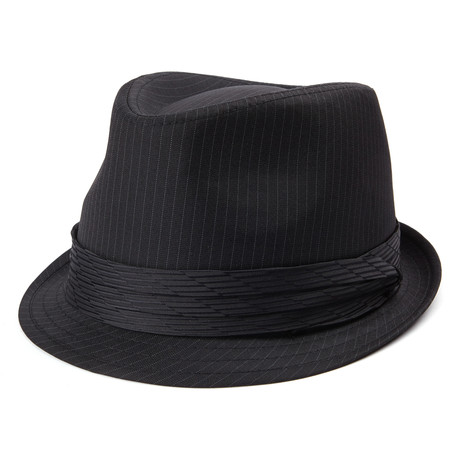 Trilby // Black Striped