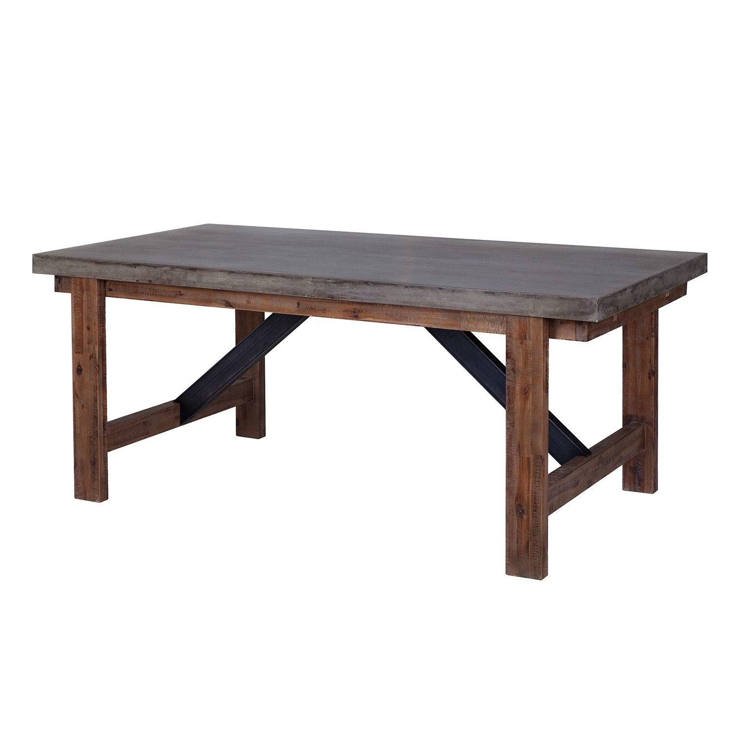 Vega Dining Table Concrete Top Furniture Maison Touch of Modern