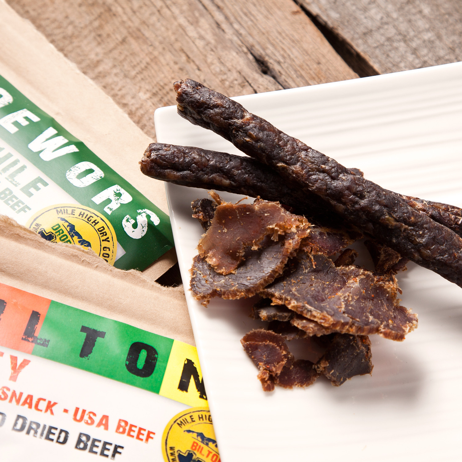 Spicy Bundle // 2 Spicy Biltong + 2 Green Chili Droewors