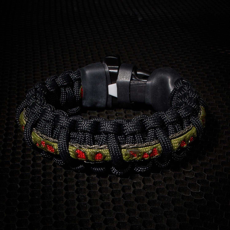 Zombie Paracord Survival Bracelet Clic 6 5 L Small