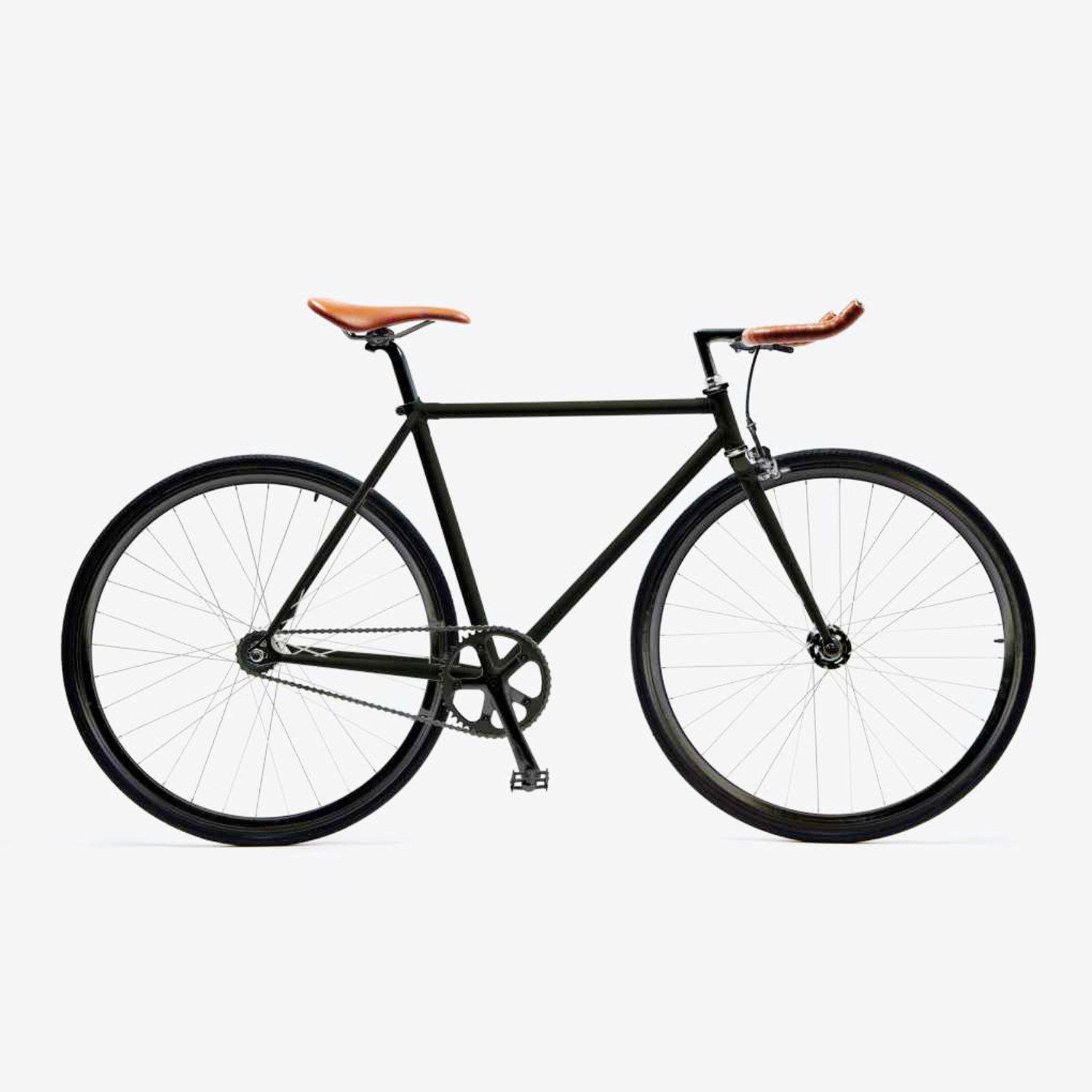 Bicycle Frame Components Component Terminology Explained Veloreviews Matte Black With Bullhorn Handlebar 1500x1500