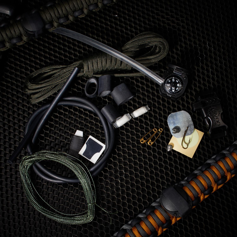 Adventure Paracord Survival Bracelet Goldenrod 6 5 L Small