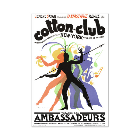 Cotton Club // Hand-Pulled Lithograph