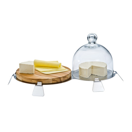 Ritratto Cheese Holder Set
