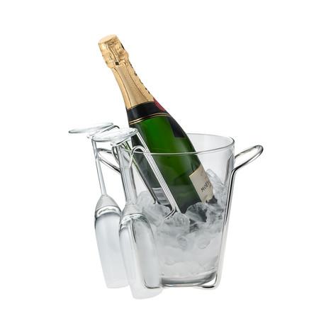 Rafaela Champagne Bucket + Flute Support