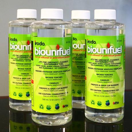 Bio Fuel Vervanging // 4 Flessen