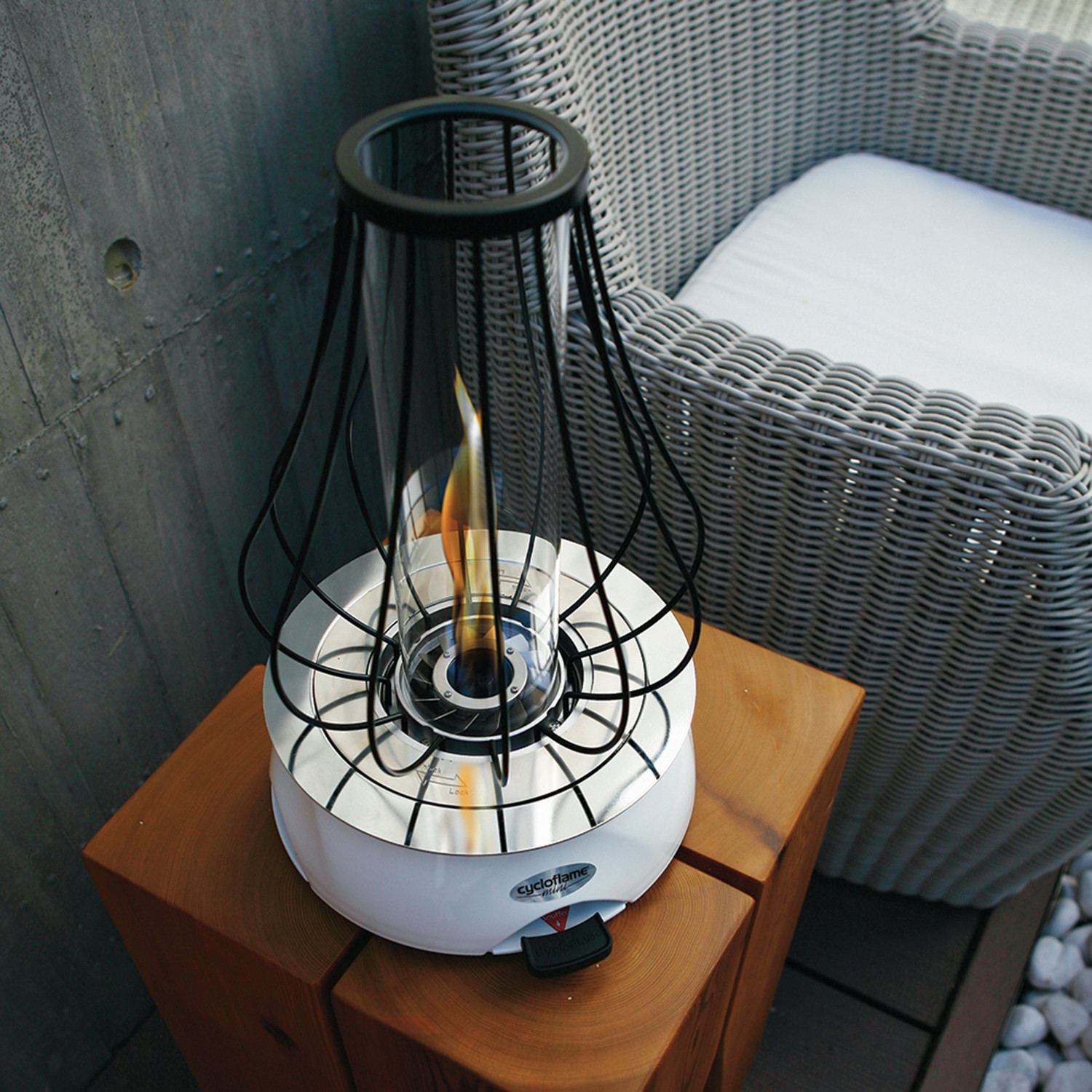 biofuel tabletop fire pit  blanca  cycloflame  touch of modern - biofuel tabletop fire pit  blanca