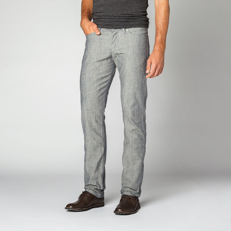 Naked 0026 amp; Famous // Weird Guy Pineapple Selvedge // Chambray