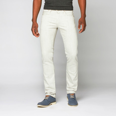 Naked 0026 amp; Famous // Skinny Guy Stretch // White