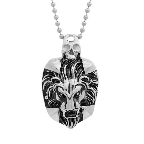 men's lion pendant - 460×460