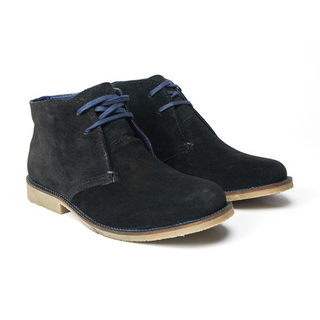 Goodwin Smith // Ashton Suede Desert Boot // Black (UK: 8)