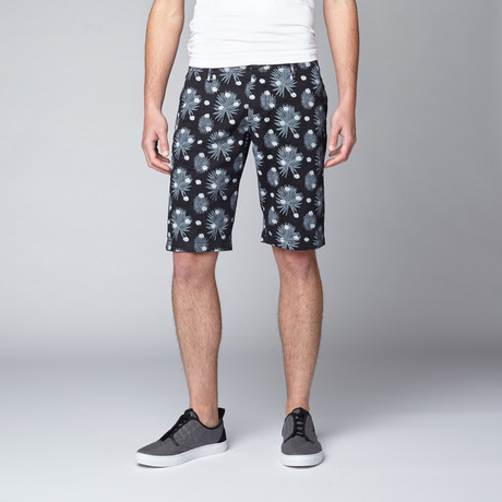 Truth Substance // Floral Burst Short // Black (30)