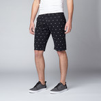 Polka Dot Short // Black (34)