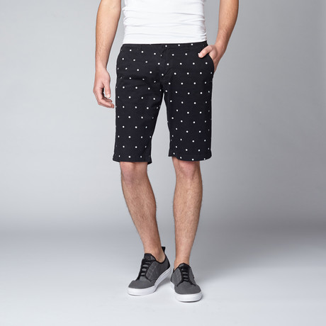 Polka Dot Short // Black (30)