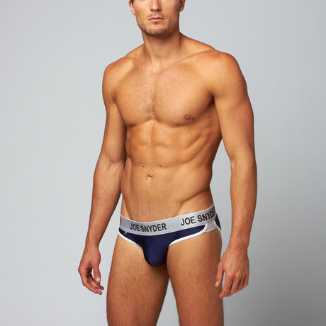 Active Wear Briefs // Navy (S)