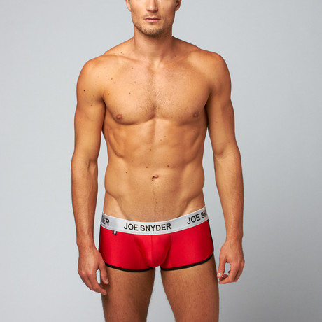 Activewear Boxer // Red (S)