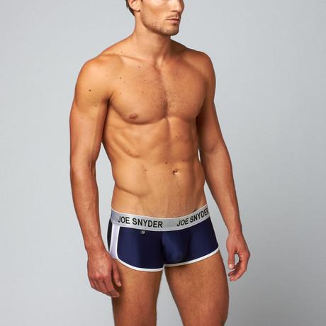 Joe Snyder Activewear Boxer // Navy