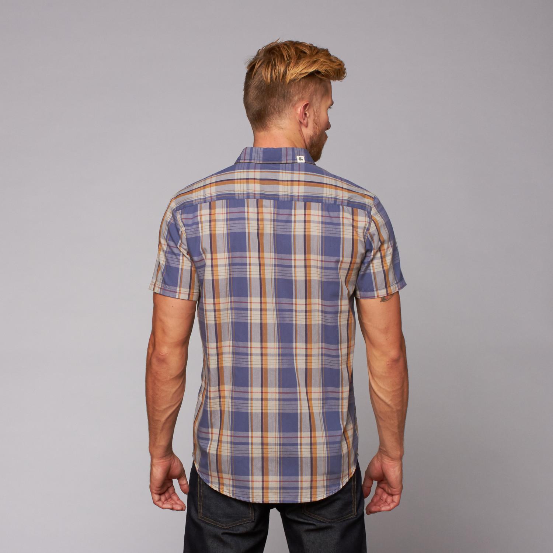 Garcia Button Up Shirt Navy S Ambig Clothing