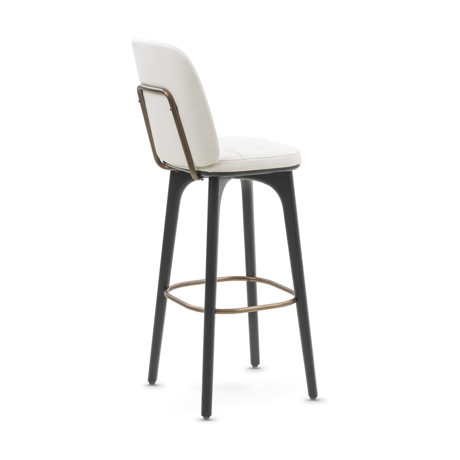 Utility Bar Stool with Backrest White Leather Medium  : 2432ff83bbd6f26e9a2bc52c952b8c16large from www.touchofmodern.com size 1500 x 1500 jpeg 83kB