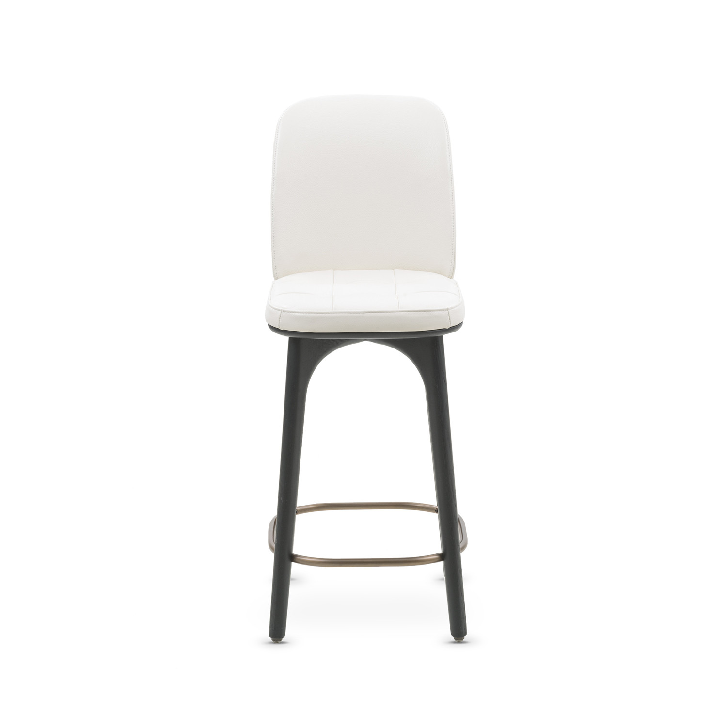 Utility Bar Stool with Backrest White Leather Medium  : 2798a5b274119136782e09a44e1c6fbdlarge from www.touchofmodern.com size 1500 x 1500 jpeg 68kB