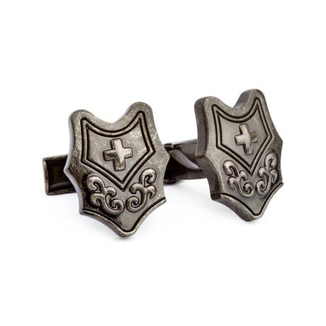 Cross Shield Cufflinks