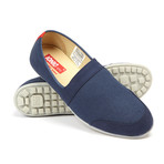 Lounger Slip-On Sneaker // Navy Blue (US: 9.5)