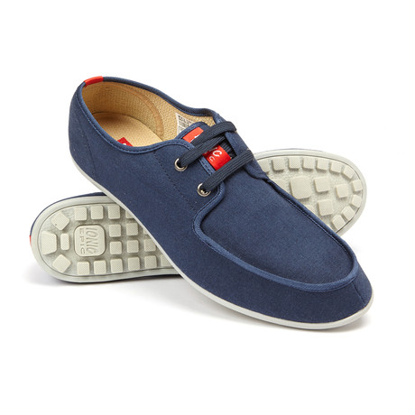 Explorer Lace-Up Sneaker // Navy Blue (US: 7)