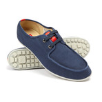 Explorer Lace-Up Sneaker // Navy Blue (US: 8.5)