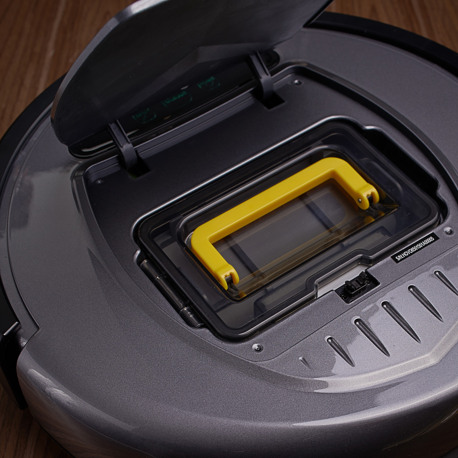 Hovo 650 Robot Vacuum Cleaner Grey Infinuvo Touch