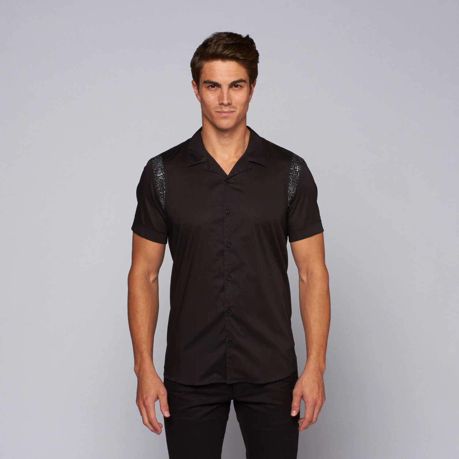 the kooples classic chemise homme black xs the kooples touch of modern. Black Bedroom Furniture Sets. Home Design Ideas
