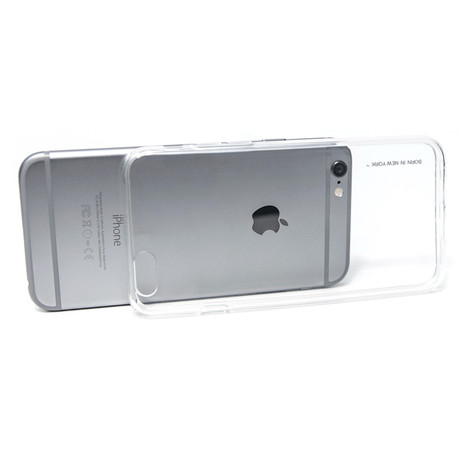 Liquid Thick Padding TPU Case iPhone 6+ with Protective Film