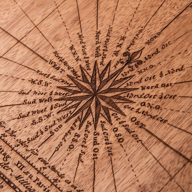 Mahogany world map large woodchuck usa touch of modern for Woodchuck usa