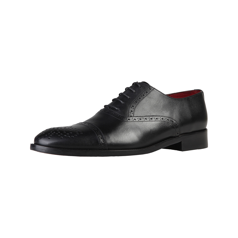 V 1969 Chaussures à lacets Noir 45 s 3G