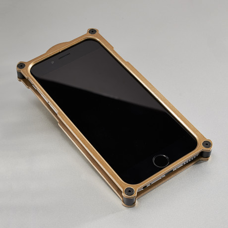 Top Secret iPhone Case // Gold (iPhone 6/6s)