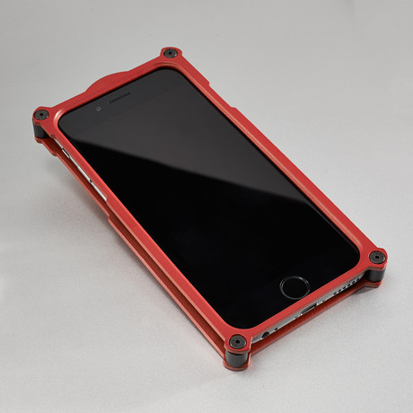 Top Secret iPhone Case // Red