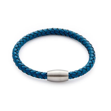 Bullet Weave Bracelet // Royal Blue