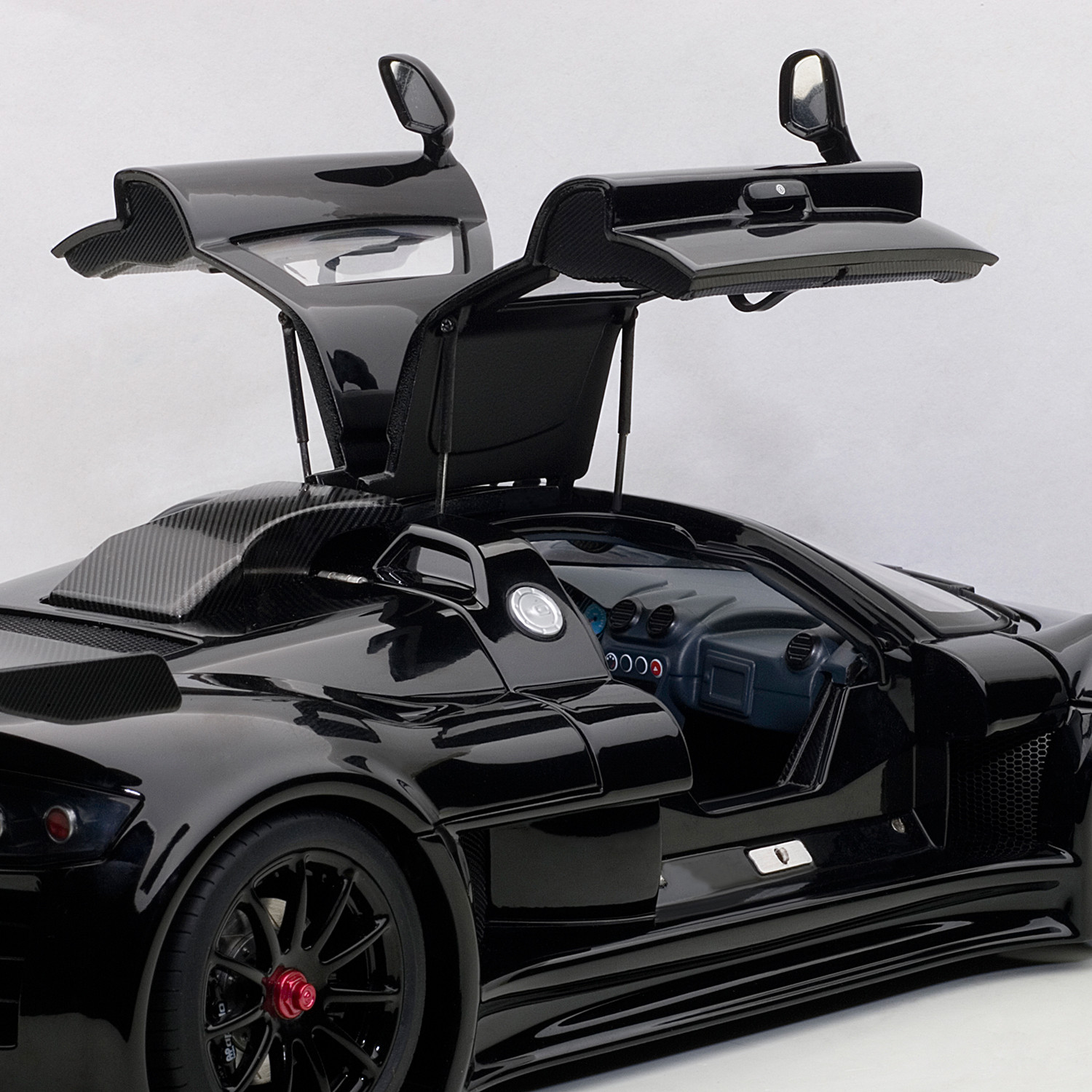 Gumpert Apollo // Glossy Black & Gumpert Apollo // Glossy Black - AutoArt - Touch of Modern