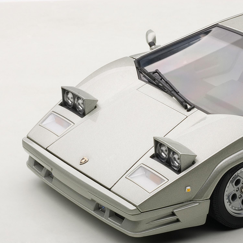 auto art lamborghini countach 25th anniversary edition silver the aut. Black Bedroom Furniture Sets. Home Design Ideas
