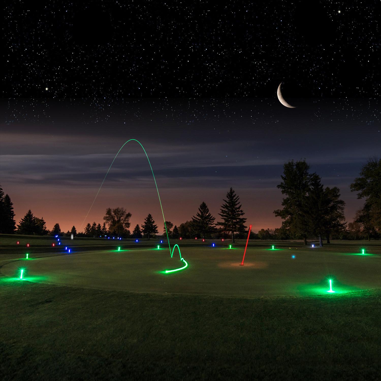 Night Golf | Emerald Lakes Golf Club