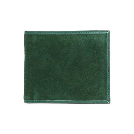 Italian Classic Bi-Fold Wallet (Black)