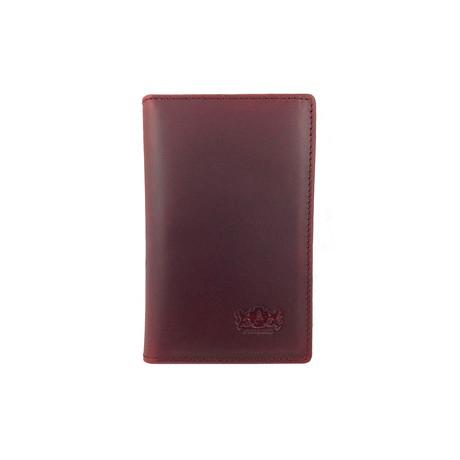 Antique Leather Front Pocket Wallet // Brown